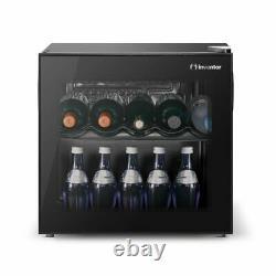 Inventeur Vino 43l Mini Wine Cooler Fridge Avec Porte En Verre