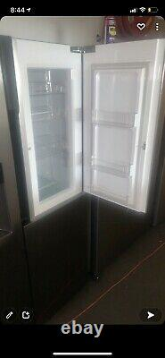 Lg Door-in-door Gsj560pzxv American Fridge Freezer Steel F Classé #287368