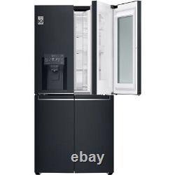 Lg Gmx844mckv Instaview Porte-à-porte 84cm Frost Free American Fridge Freezer