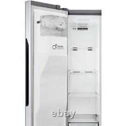 Lg Gsj560pzxv Porte-à-porte 91cm Frost Free American Fridge Freezer Steel