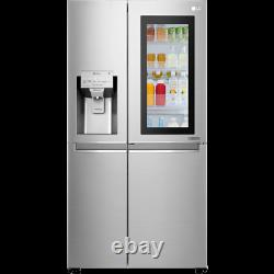 Lg Gsx960nsvz Instaview Porte-à-porte 91cm Frost Free American Fridge Freezer