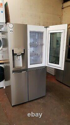 Lg Gsx961nsvz Instaview Porte-à-porte 91cm Frost Free American Fridge Congélateur