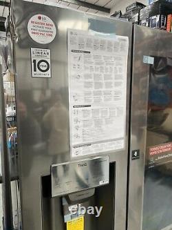Lg Instaview Porte-à-porte Non Plombé Gsx961nsvz American Fridge Freezer Wi-fi