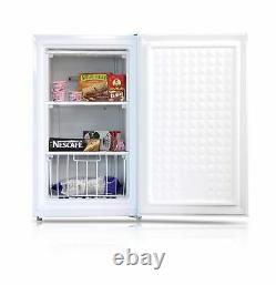 Midea Compact Upright Freezer Simple Réversible Porte 3.0 Pieds Cubes Blanc Nouveau