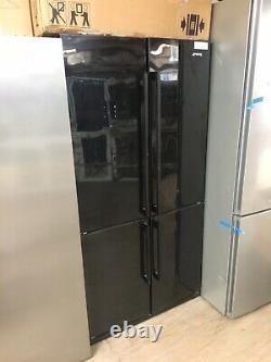 New Smeg American Style Side By Side Fridge Freezer Fq60npe 4 Porte 610l Vip 90cm