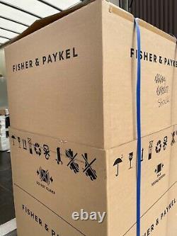 Nouveau Congélateur Frigo Fisher Paykel Rf522adx5 Français Porte Argent Autoportante
