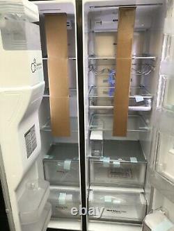 Nouveau Lg Instaview Door-in-door American Style Fridge Freezer Matte Black Rrp£1899
