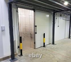 Nouvelle Porte Coulissante Freezer Cold Room, 2000mm X 2500mm (h)