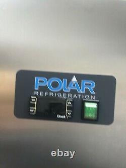 Polar Frigidaire De Porte Simple En Acier Inoxydable 600ltr G592 Traiteur Commercial
