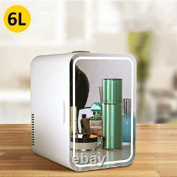 Portable 8l Beauty Cosmetic Fridge Led Maquillage Miroir Porte Mini Skincare Cooler