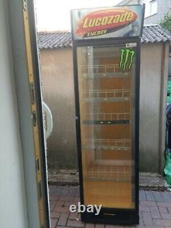 Porte En Verre Unique Husky Boissons Affichage Frigidaire Commercial En Bon Travail Conditi
