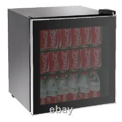 Rca 70 Can Beverage Wine Cooler Mini Réfrigérateur Réfrigérateur Porte Soda Beer Glass
