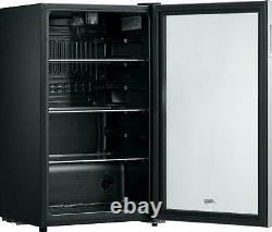 Réfrigérateur Mini Bière Boissons Vin Soda Réfrigérateur Porte En Verre 115 Can Drink Cooler