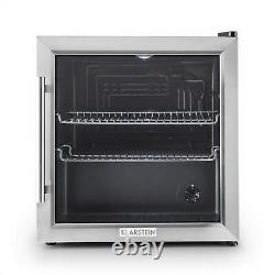Réfrigérateur Réfrigérateur Réfrigérateur Bière Mini Bar Hôtel Maison Bureau Porte En Verre 50 Litre