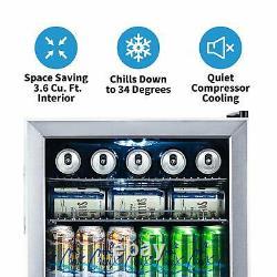Refroidisseur De Boissons Newair Et Réfrigérateur Mini Réfrigérateur Avec Porte En Verre Parfait F