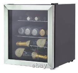 Russell Hobbs Rhgwc3ss 12 Bouteille De Verre De Porte Refroidisseur De Vin En Acier Inoxydable Grade A+