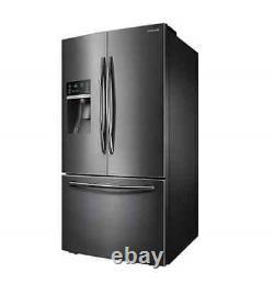 Samsung 665l Français Réfrigérateur Porte Noir Inoxydable Srf665cdbls