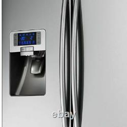 Samsung Rfg23uers1 520l Américain Congélateur Autoportant Français 3 Portes