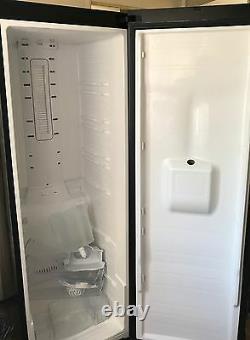Samsung Rsh1nbbp Rs American Fridge Freezer Doors Y Compris Les Étagères Et Accessoires