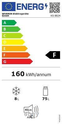 Severin Mini Kühlschrank Porte Simple Tischgerät 83 L 41 Db 4 Gefrierfach