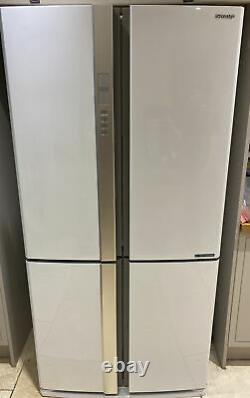 Sharp Sj-ex820f Blanc Frigidaire De Porte Français Congélateur A++ 6 Mois