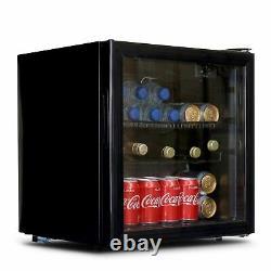 Sia Dc2bl 50l Table Top Mini Boit De La Bière Et Refroidisseur De Réfrigérateur À Vin Avec Porte En Verre
