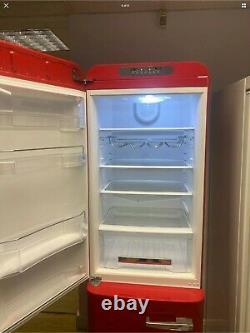 Smeg Fab32 Rouge Fridge Freezer Doors Peau En Excellent État