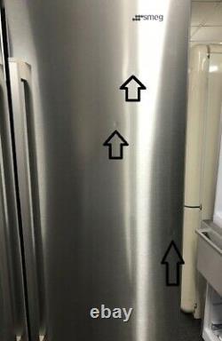 Smeg Fq60xpe Four Door Frost Free American Fridge Freezer Argent