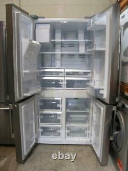 Smeg Fq75xped Stainless Steel 4-door American Fridge Freezer + Water & Ice Pfa