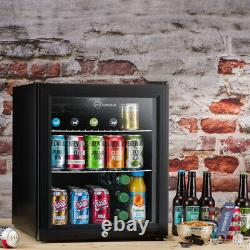 Subcold Super 50 Led Noir Remis À Neuf Grade B Glass Door Beer Mini Fridge