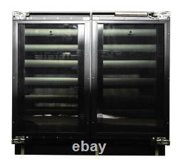 U-line U-3090wcol-00 Double Porte Réfrigérateur De Cuve De 90cm Fb0143